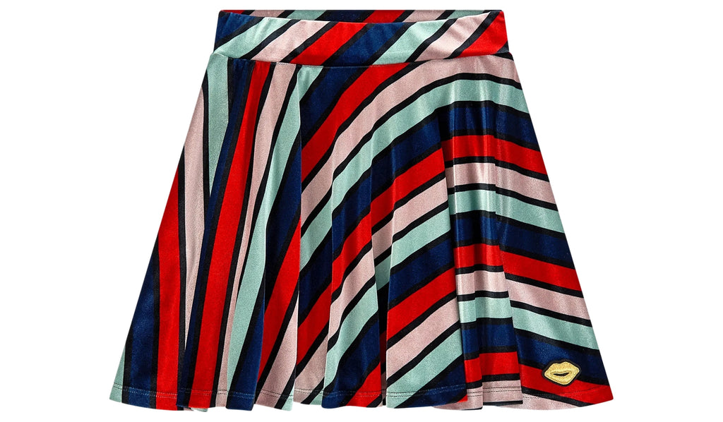 Sonia Rykiel Diaz Long Velvet Skirt