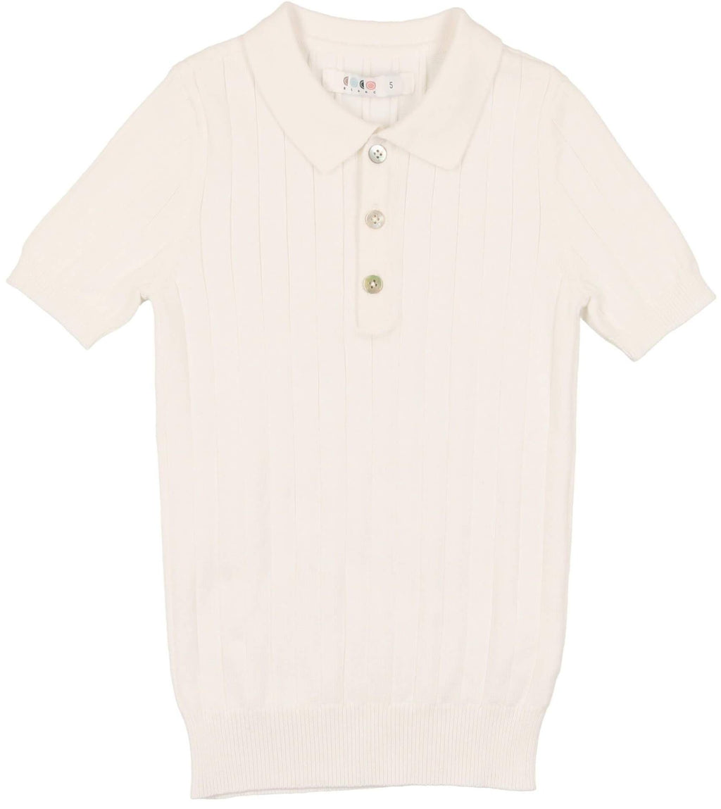 Coco Blanc CB2119 Boys Knit Polo