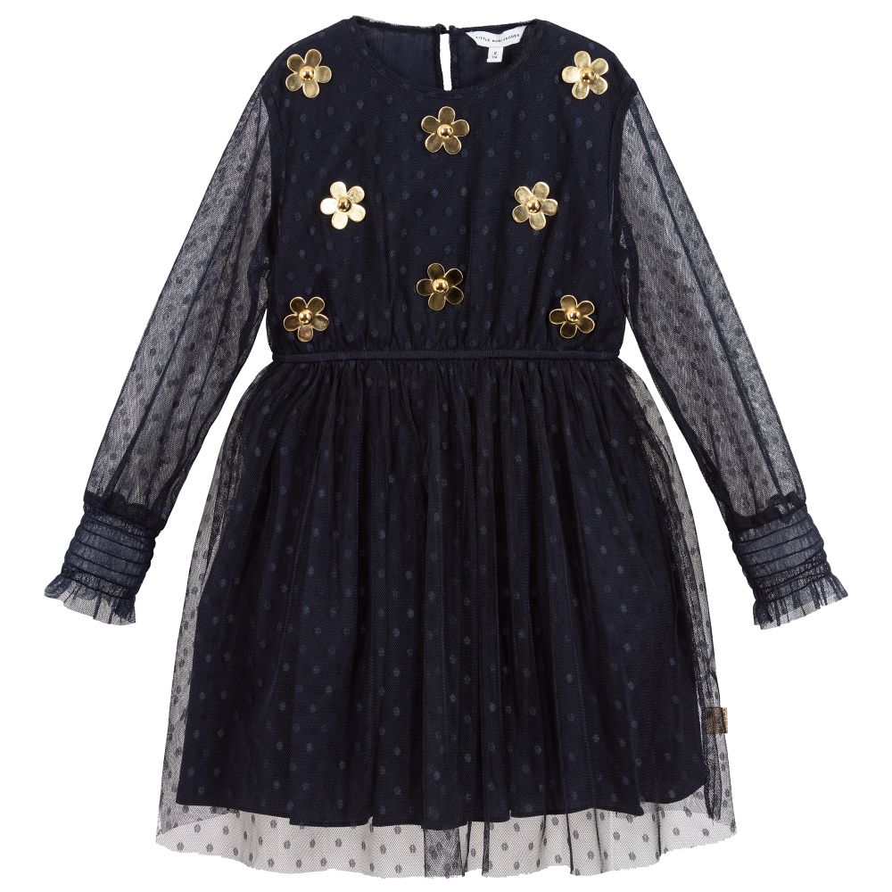 Little Marc Dress with Daisy Rivets