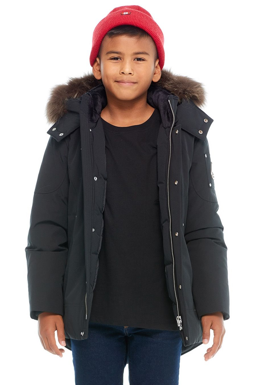Moose Knuckles Unisex Fox Fur Parka