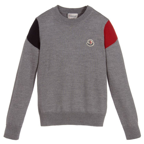 Moncler 805969BG Round Neck Sweater