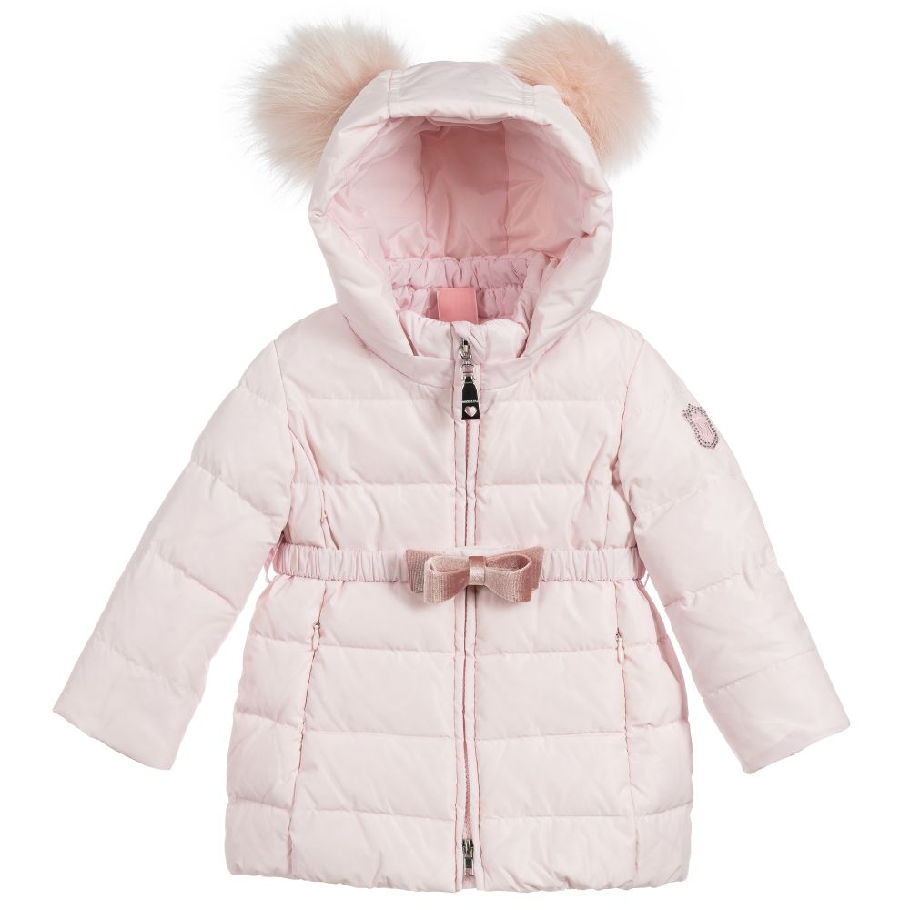 Monnalisa Down Bunny Jacket