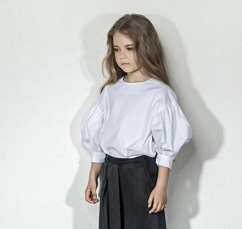 Unlabel Sali Poof Sleeve Top