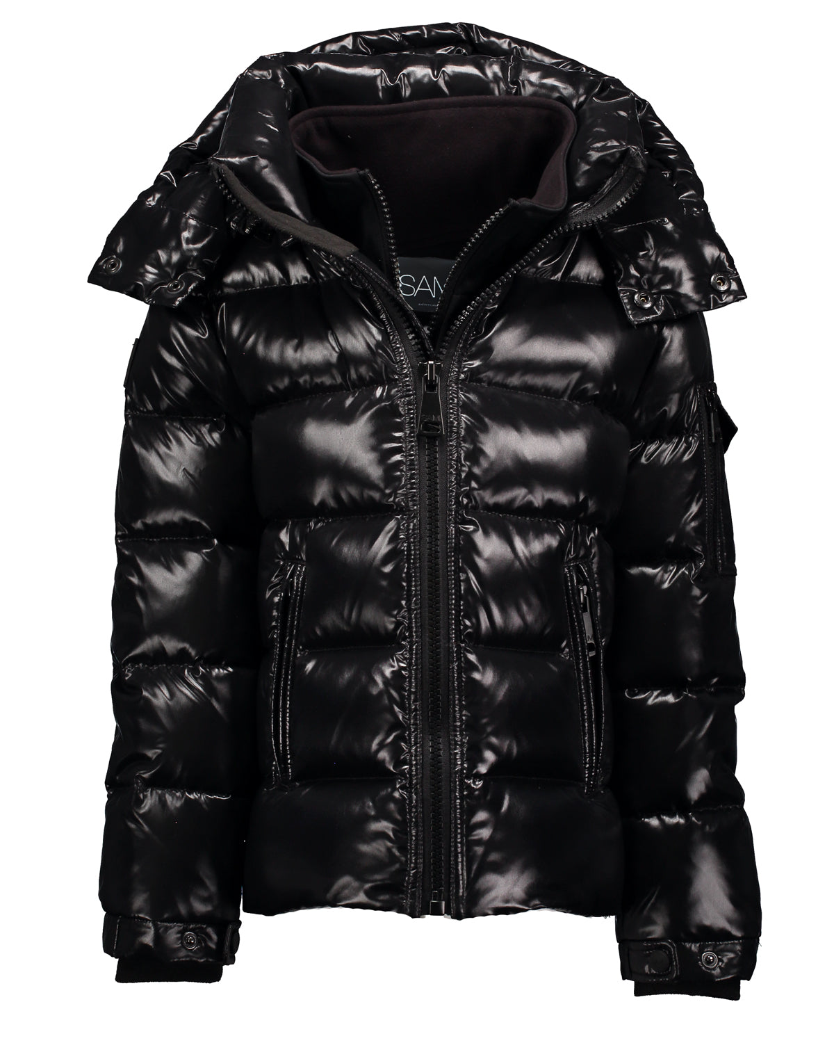 SAM. Glacier Detachable Hood Bubble Jacket