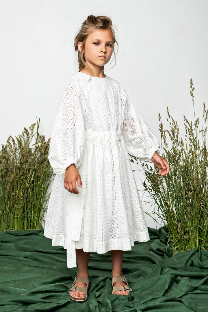 Unlabel Camellia Embroidery Dress