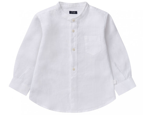 Il Gufo CL016 Button Down Linen Shirt
