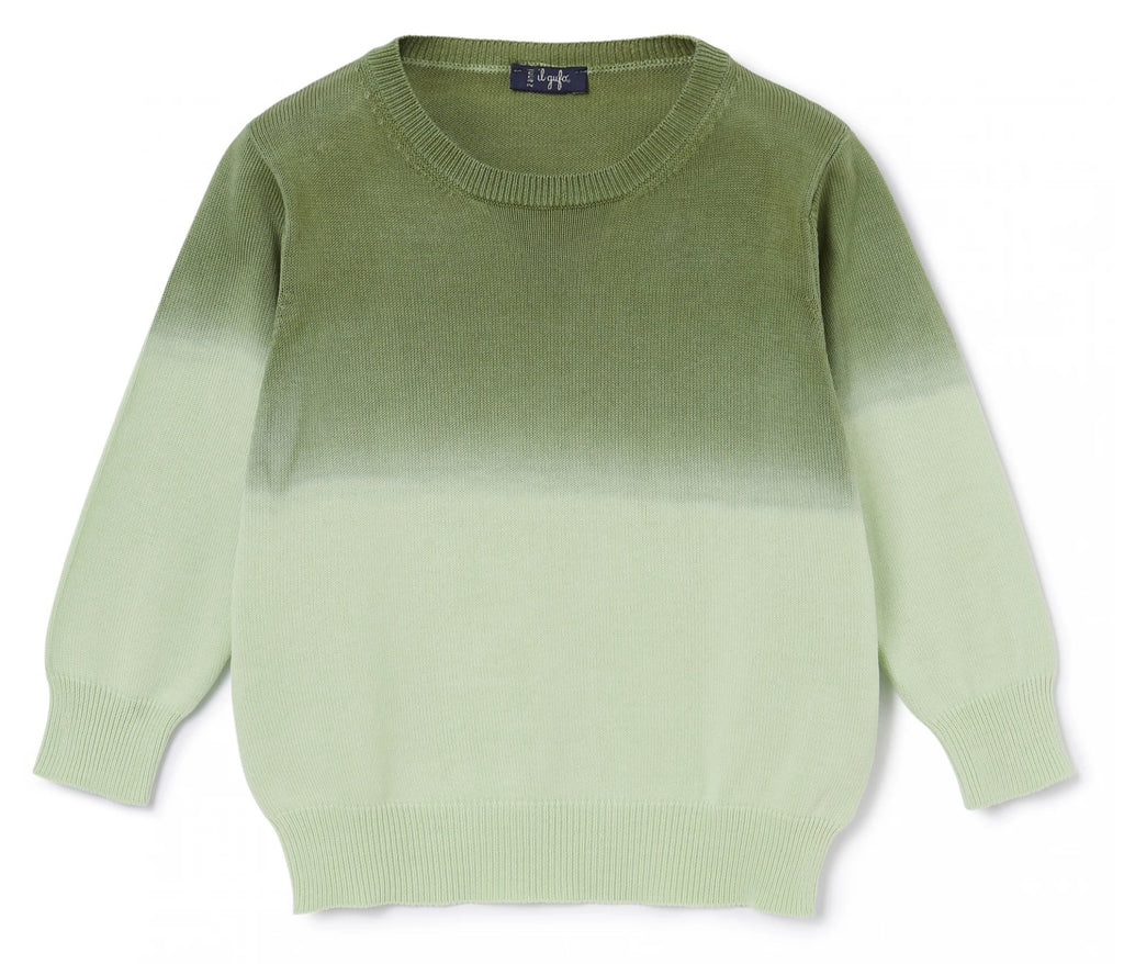 Il Gufo Boy's Ombre Sweater