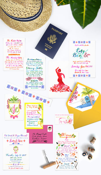 Wedding Stationery Sampler