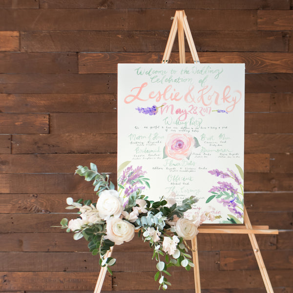 Large Wedding Sign