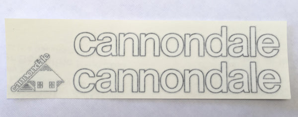 1983 - 1986 Cannondale Decal