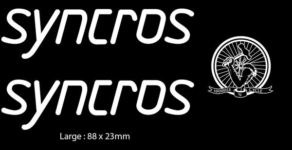 Syncros Stem Decals