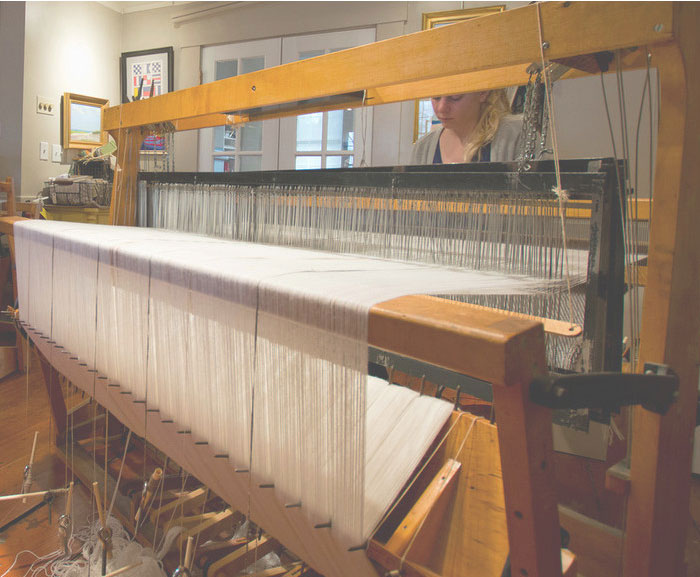 The weaving studio nantucket looms for Interior design 02554