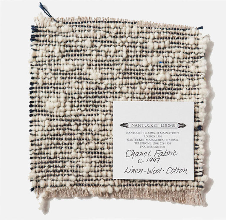All Natural Fiber Cloth Sample Nantucket