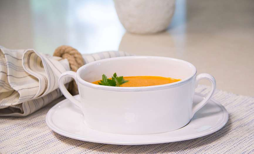 Nantucket Dinnerware - Soup Cup with Bisque