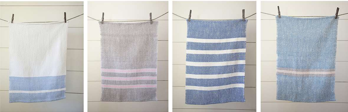 Nantucket Cottage Style Kitchen Towels