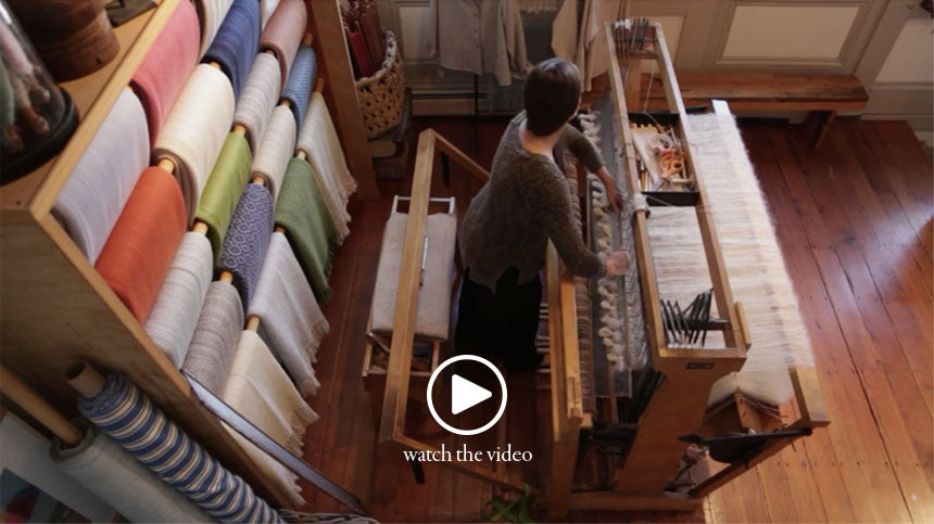 Nantucket Weaving Studio Play the Video