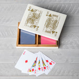 King & Queen of Hearts Card Box