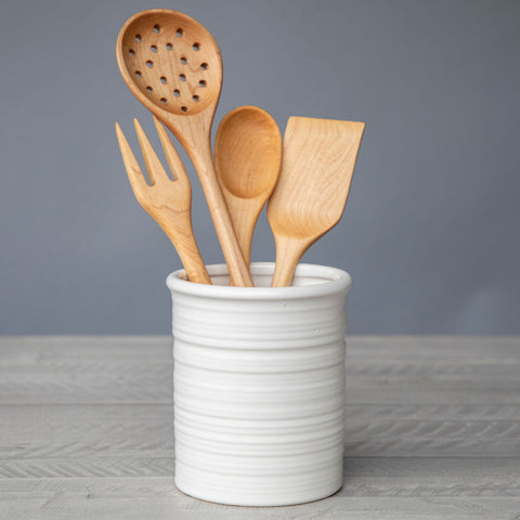 Ceramic Utensil Crock