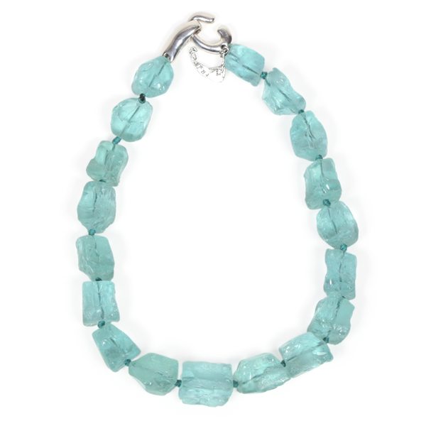 Tumbled Glass Necklace