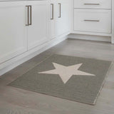 Grey Star Mat