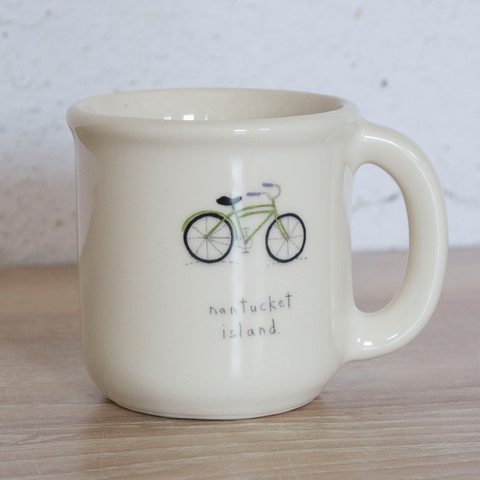 Nantucket Bicycle Mug
