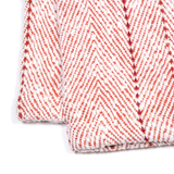 Fire Engine Red Baby Blanket