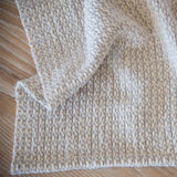 Silver Gray Handwoven Kitchen Towel