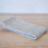 Storm Blue Handwoven Kitchen Towel
