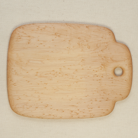 Rectangle Bird's-Eye Maple Cutting Board