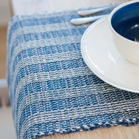 Deep Sea Blue Table Runner