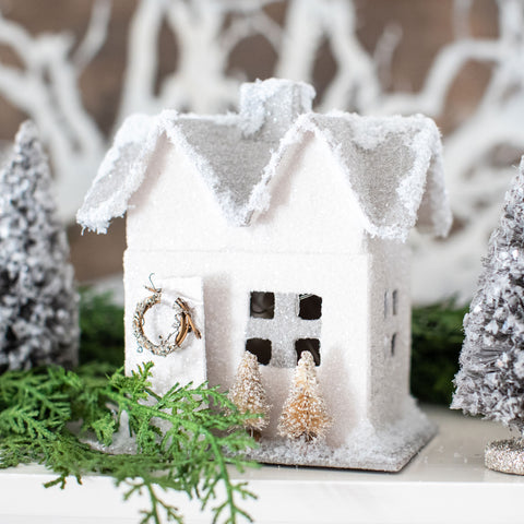 Winter Glitter Cottage