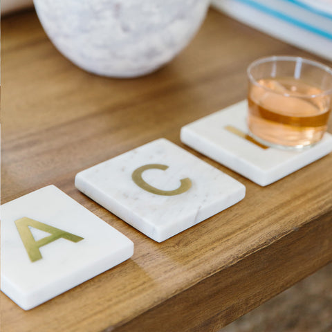 ACK Marble Coasters