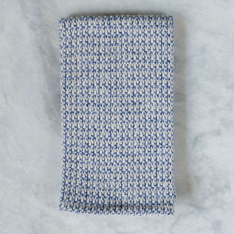 Admiral Blue Handwoven Kitchen Towel
