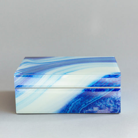 Blue Marbled Box