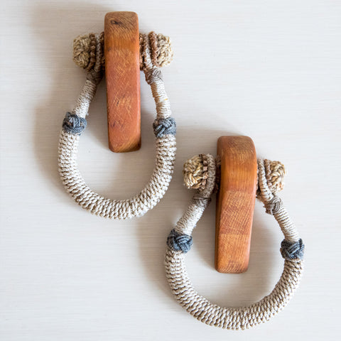 Vintage Rope Beckets