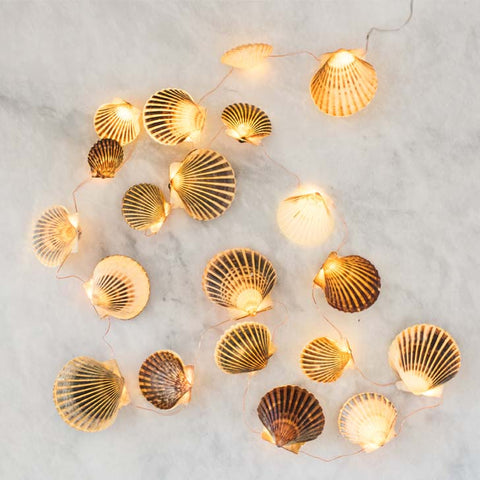 Nantucket Scallop String Lights