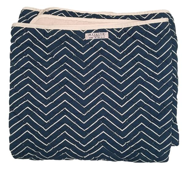 Mariner Blue Canvas Beach Blanket