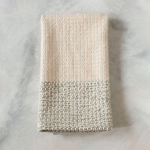 Ivory & Seagrass Handwoven Kitchen Towel