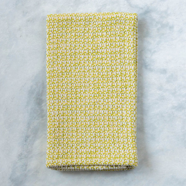 Lemon Lime Handwoven Kitchen Towel