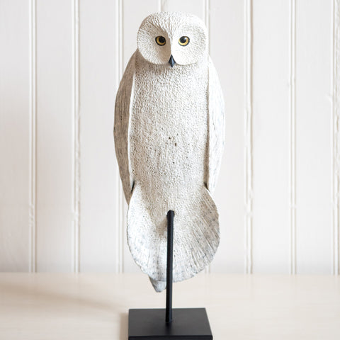 Snowy Owl Carving | Kevin Kuester