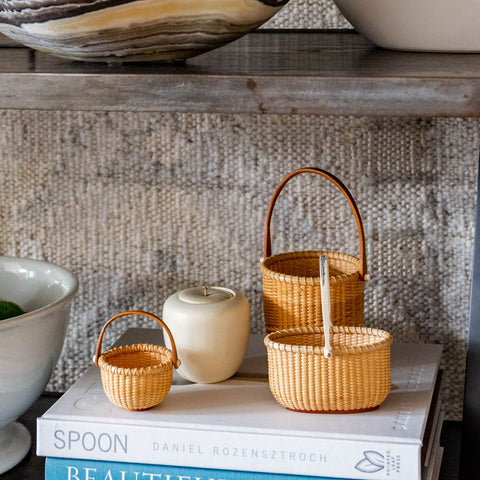 Mini Lightship Baskets | Dale Rutherford