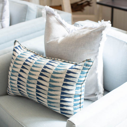 Gray Lady Fringe Pillow