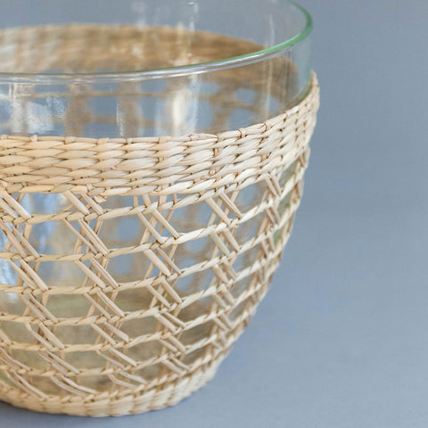 Seagrass Wrapped Bowl