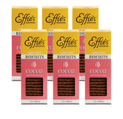 Effie's Cocoa Biscuits