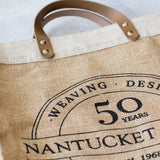 Nantucket Looms 50th Anniversary Market Bag