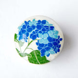 Blue Hydrangea Trinket Box | Leslie Linsley