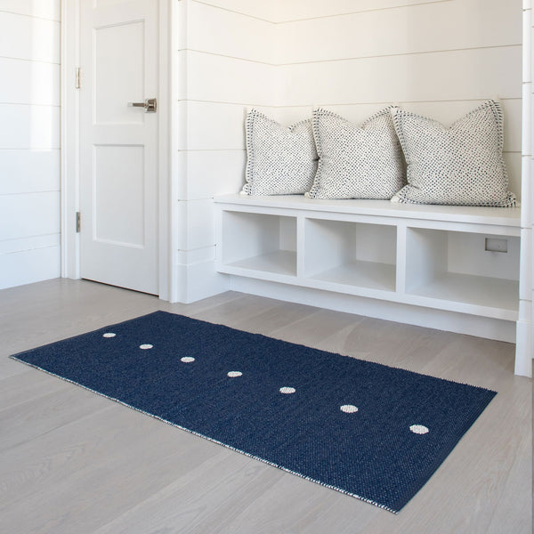 True Navy Teeny Dot Runner