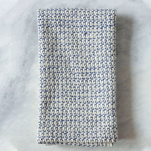 Blue Marled Handwoven Kitchen Towel