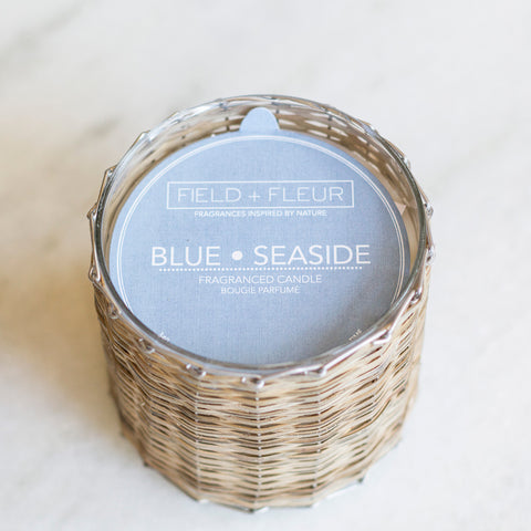 Blue Seaside Candle