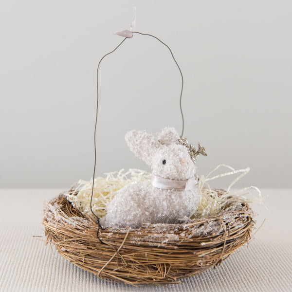 Easter Bunny in Nest